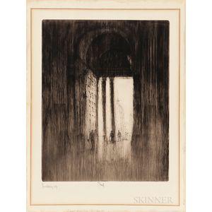 Joseph Pennell (American, 1860-1926)      West Door, St. Paul