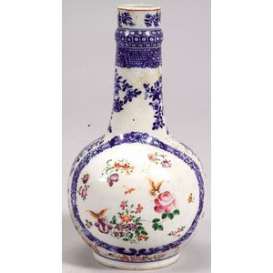 Chinese Export Famille Rose Porcelain Water Bottle