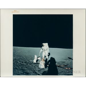 Apollo 12, Three Photographs, November 19, 1969.