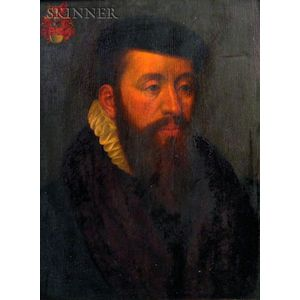 Manner of Francois Clouet (French, before 1522-1572)    Portrait of a Gentleman