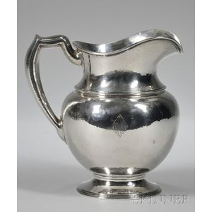 Brand-Chatillon Co. Sterling Silver Water Pitcher