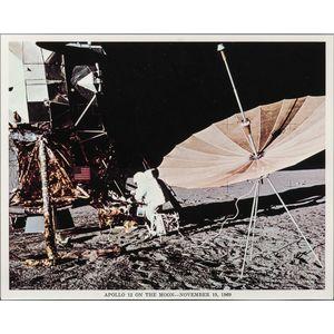 Apollo 12 on the Moon, November 19, 1969.