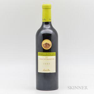 Bodegas Emilio Moro Malleolus de Sanchomartin 2005, 1 bottle