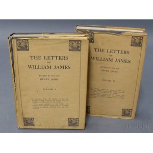 (James Family), The Letters of William James