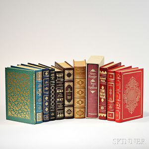 Franklin Library and Other Limited Edition Leather-bound Books, Including Signed Copies, Eleven Volumes