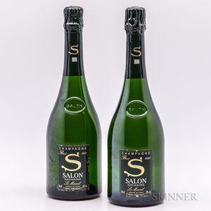 Salon Champagne 1996, 2 bottles