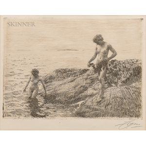 Anders Zorn (Swedish, 1860-1920)      Seaward Skerries