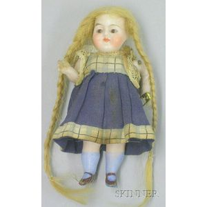 Tiny All-Bisque Doll
