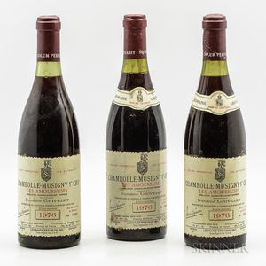 Grivelet Chambolle Musigny Les Amoureuses Reserve Numerotee 1976, 3 bottles