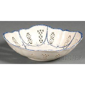 Pearlware Fruit Bowl