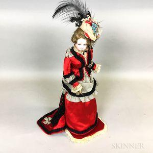 French Bisque Head Fashion Doll