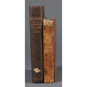Jarves, James Jackson (1818-1888) History of the Hawaiian or Sandwich Islands.