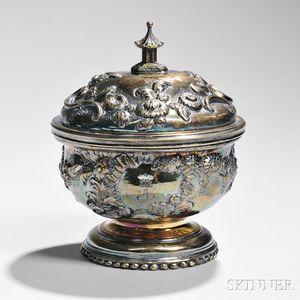 George I Britannia Standard Silver-gilt Covered Sugar