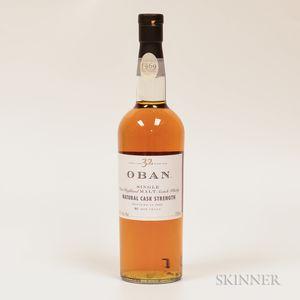 Oban 32 Years Old 1969, 1 750ml bottle