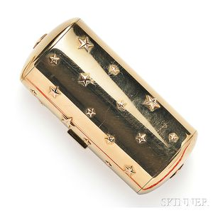 18kt Gold Vanity Case, Cartier