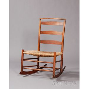 Shaker Production No. 4 Rocking Chair