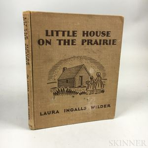 Wilder, Laura Ingalls (1867-1957) Little House on the Prairie.
