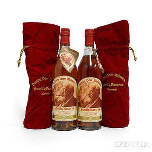 Pappy Van Winkle Family Reserve Bourbon 20 Years Old, 2 750ml bottles
