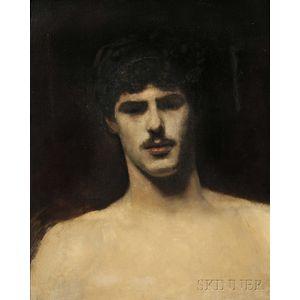John Singer Sargent (American, 1856-1925)      Study of a Man