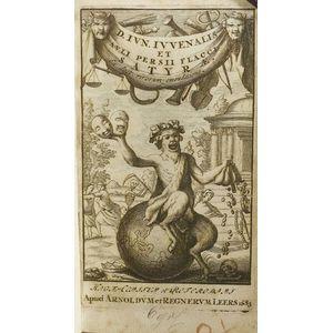 Juvenalis, Decimus Junius (60-140) and Persius Flaccus, Aulus (34-62)