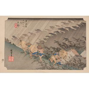 After Hiroshige: