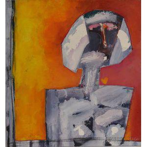 Michael Sessions (American, b. 1948)      Torso of a Woman