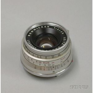 Leitz (Canada) Summicron f/2 35mm Lens No. 2066901