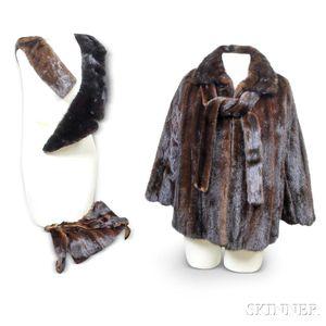 Roberts/Neustadter Mink Fur Jacket