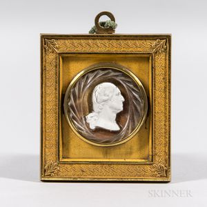 Sulphide Bust of George Washington