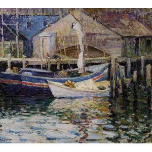 Helen G. Rolfe (American, ac. 1920-1927)      Gloucester Fishing Boats