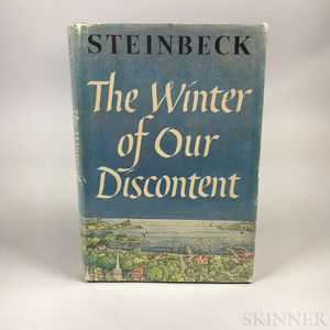 Steinbeck, John (1902-1968) The Winter of Our Discontent.