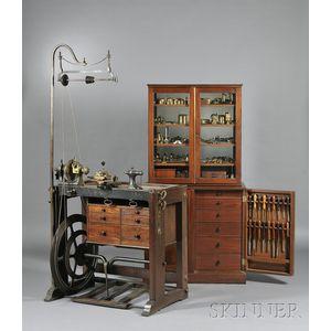 Holtzapffel & Deyerlein Ornamental Turning Lathe and Accessories