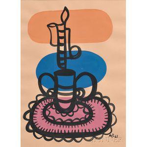 Amelia Peláez (Cuban, 1896-1968)    Candelabro