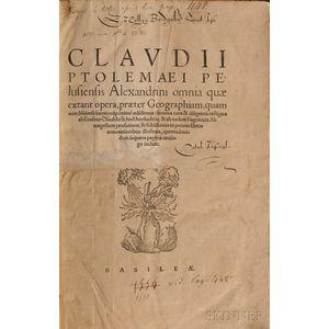 Ptolemy, Claudius (c. AD 90-c. AD 168) Omnia Quae Extant Opera