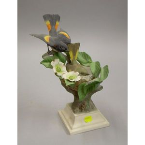 Boehm Porcelain American Redstarts