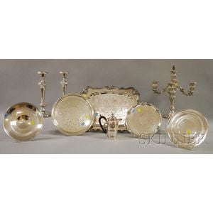 Group of Silver-plated Tableware