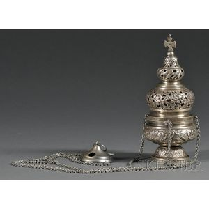 Greek Silver Lampada