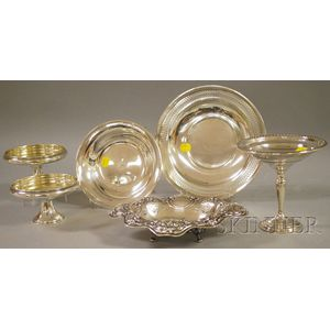 Group of  Sterling Tableware