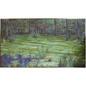 Bruce L. Marsh (American, b. 1937)    Green Landscape