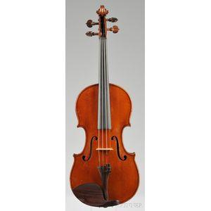 French Violin, Laberte-Humbert Freres, Mirecourt, c. 1920