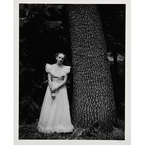 Ansel Adams (American, 1902-1984)      Graduation Dress, Yosemite Valley, California
