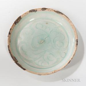 Small Qingbai Porcelain Dish
