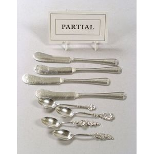 Twenty Sterling Silver Flatware Articles