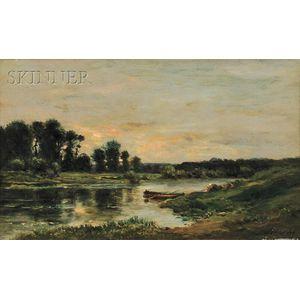 Charles François Daubigny (French, 1817-1878)      Untitled [La vallée de l