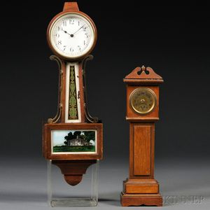 Two Miniature American Clocks
