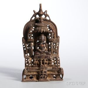 Bronze Jain Shrine