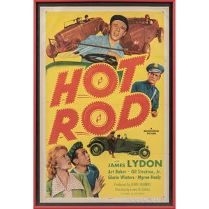 """Hot Rod"" One Sheet Movie Poster"