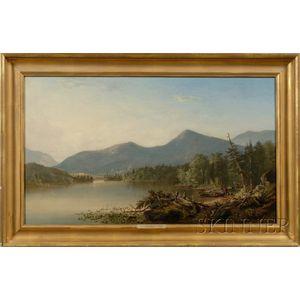 Augustus Rockwell (American, 1822-1882)      Schroon Lake, Essex County, N.Y.