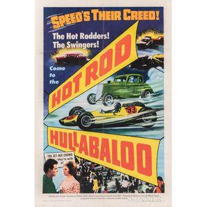 """Hot Rod Hullabaloo"" One Sheet Movie Poster"