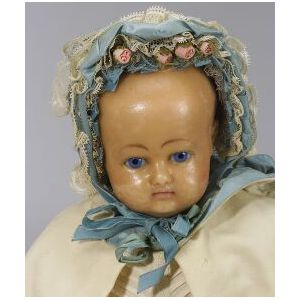Poured Wax Baby Doll